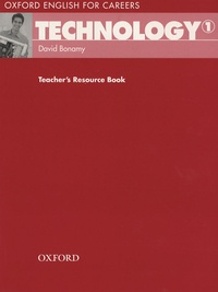 David Bonamy - Technology 1 - Teacher's Resource book.