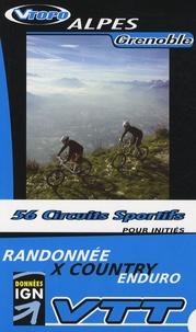David Boudin et Jacky Estublier - Alpes Genoble - 56 circuits sportifs.