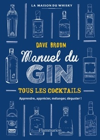 David Broom - Gin - Le manuel.