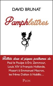 David Brunat - Pamphlettres.