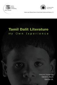 David C. Buck et M. Kannan - Tamil dalit literature - My own experience.
