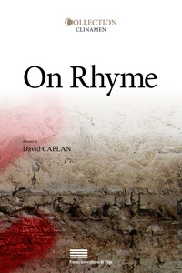 David Caplan - On rhyme.
