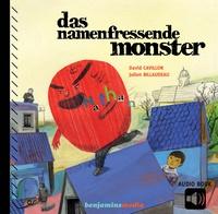 David Cavillon et Julien Billaudeau - Das namenfressende Monster - Die Aufgabe des Helden dieses fröhlichen, modernen Märchens ist es, sich zu einem einmaligen, einzigartigen Wesen zu entwickeln, das glücklich mit den anderen zusammenleben kann..