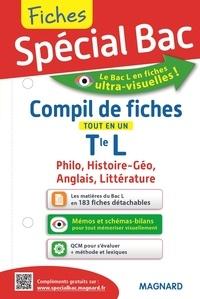David Chabin et Jean-Jacques Marimbert - Compil de fiches tout en un Tle L - Philosophie, Histoire-géo, Anglais, Littérature.
