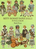 Sheila Young - Betty Bonnet paper dolls - In full color.