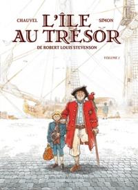 David Chauvel et Fred Simon - L'île au trésor - Volume 1.