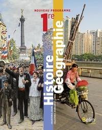 David Colon et Serge Bourgeat - Histoire-Géographie 1re.