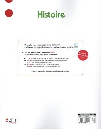 Histoire Tle David Colon. Manuel de l'élève  Edition 2020