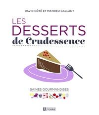 David Côté et Mathieu Gallant - Les desserts de Crudessence.