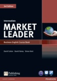David Cotton - Market leader intermediate 3rd edition 2010 coursebook and DVD-ROM pack.