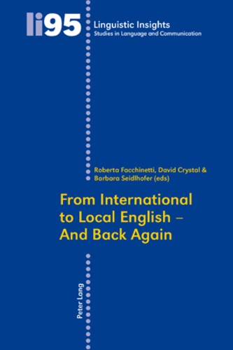 David Crystal et Barbara Seidlhofer - From International to Local English – And Back Again.