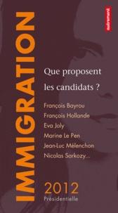 David d' Equainville - Immigration - Que proposent les candidats ?.