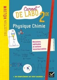 Deedr.fr Carnet de labo Physique-chimie 2de Image
