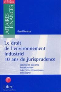 Birrascarampola.it Le droit de l'environnement industriel. 10 ans de jurisprudence Image