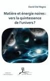 David Del Regno - Matière et énergie noires : vers la quintessence de l'univers ?.