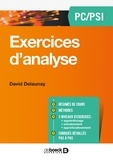 David Delaunay - Exercices d'analyse PC/PSI.
