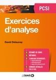 David Delaunay - Exercices d'analyse - PCSI.