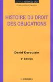 David Deroussin - Histoire du droit des obligations.