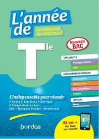David Dubus et Denis Regaud - L'année de Tle spécialités physique-chimie / SVT + enseignements communs.