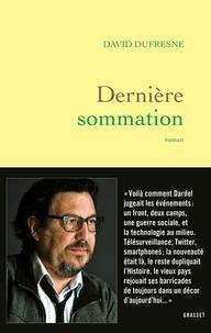 Livres téléchargeables pour allumer Dernière sommation  - roman en francais