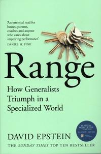 David Epstein - Range - How Generalists Triumph in a Specialized World.