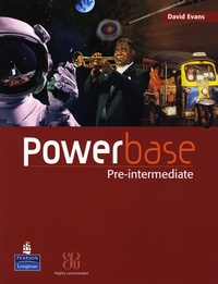 David Evans - Powerbase pre-intermediate coursebook and audio cd.