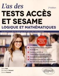 Las des tests ACCES et SESAME - Logique et mathématiques : 5 annales ACCES et 5 tests blanc SESAME corrigés.pdf