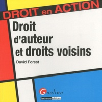 David Forest - Droit d'auteur et droits voisins.