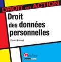 David Forest - Droit des données personnelles.