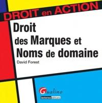 David Forest - Droit des marques et des noms de domaine.