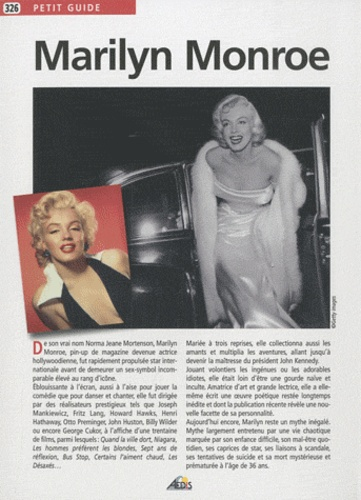 David Fréchet - Marilyn Monroe.