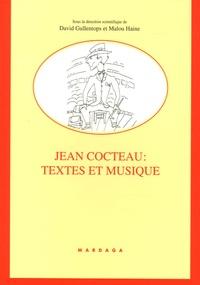 David Gullentops et Malou Haine - Jean Cocteau : Textes et musique.