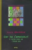 David Halperin - Cent ans d'homosexualité - Et autres essais sur l'amour grec.