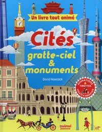 David Hawcock - Cités, gratte-ciel & monuments - Animations, tirettes, volets à soulever.