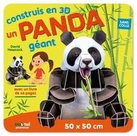 David Hawcock et Rudolf Farkas - Construits en 3D un panda géant - Avec 1 livre.