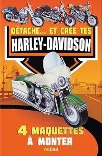 Goodtastepolice.fr Détache...et crée tes Harley Davidson - 4 maquettes à monter Image