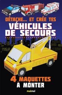 David Hawcock - Détache...et crée tes véhicules de secours.