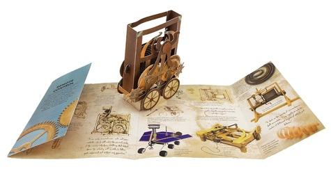 Léonard de Vinci, les incroyables machines. Avec 6 fantastiques pop-up
