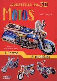 David Hawcock et Margherita Borin - Motos - Avec 1 livre et 8 modèles.
