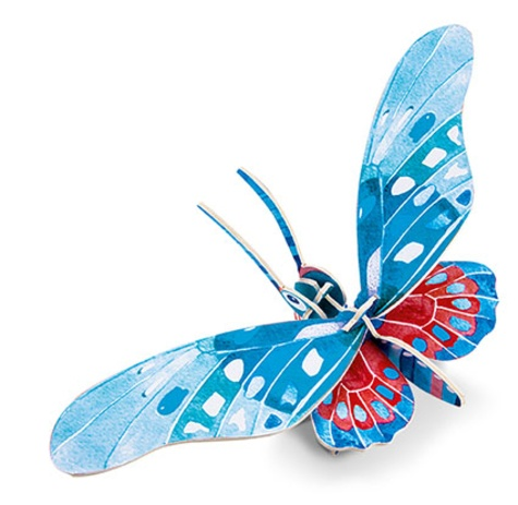 Papillons. Avec 1 livre et 8 modèles