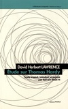 David Herbert Lawrence - Etude sur Thomas Hardy.