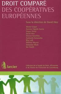 David Hiez - Droit comparé des coopératives européennes.