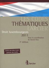 David Hiez - Droit luxembourgeois 2011.