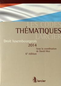 David Hiez - Droit luxembourgeois 2014.