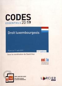 David Hiez - Droit luxembourgeois.