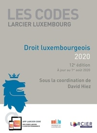 David Hiez - Droit luxembourgeois.