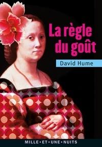 David Hume - La Règle du goût.