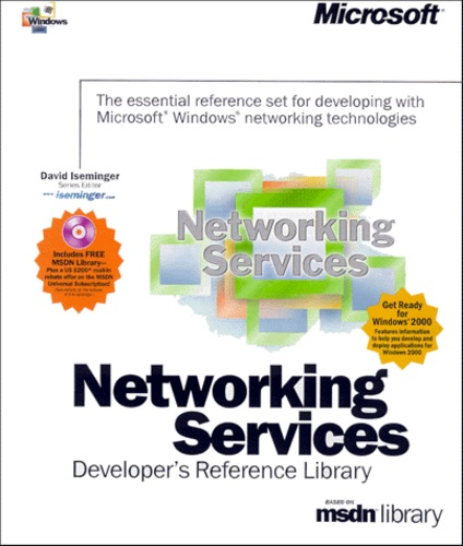 Networking Services, Developer's Reference Library Coffret 5 volumes :  Volume 1, Windows Sockets and QOS  Volume 2, Network Protocols and  Interfaces