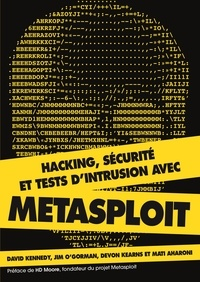 David Kennedy - Hacking - Sécurité et tests d'intrusion avec metasploit.