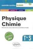 David Latouche et Hervé Tellier - Physique Chimie Tle S - Conforme au nouveau programme 2012.
